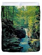 Adams Falls Duvet Cover