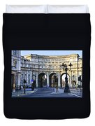 Admiralty Arch In Westminster London Duvet Cover