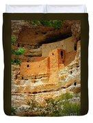 Adobe Cliff Dwelling Duvet Cover