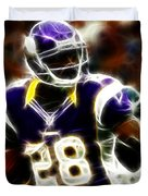 Adrian Peterson 02 - Football - Fantasy Duvet Cover