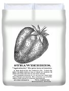 Advertisement: Strawberry Duvet Cover