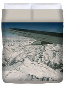 Aerial View Of Himalaya From Plane En Duvet Cover