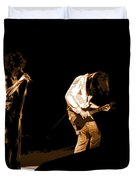 Aerosmith In Spokane 19a Duvet Cover by Ben Upham