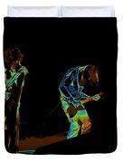 Aerosmith In Spokane 19b Duvet Cover by Ben Upham