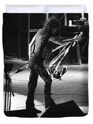 Aerosmith In Spokane 35 Duvet Cover by Ben Upham