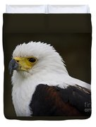 African Fish Eagle 1 Duvet Cover