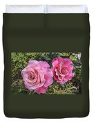 After The Summer Rain Watercolor Duvet Cover