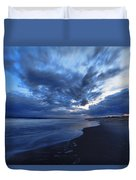 Afterglow On Fire Island Duvet Cover