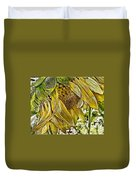 Afternoon Sunflower Duvet Cover
