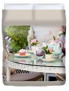 Afternoon Tea And Cakes Duvet Cover