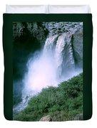 Agoyan Falls Duvet Cover
