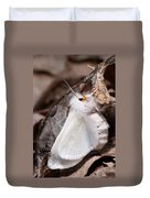 Agreeable Tiger Moth With Ant Duvet Cover