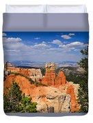 Agua Canyon Bryce Canyon National Park Duvet Cover
