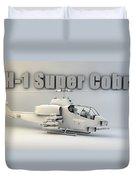 Ah-1 Super Cobra Duvet Cover