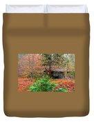 Ahwahnee Cabin Light Duvet Cover