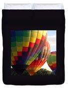 Air Balloon Last Call Duvet Cover