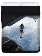 Air Force Pararescueman Jumps Duvet Cover