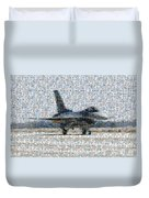 Airforce F-4866 Mosaic  Duvet Cover