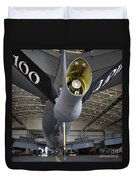 Airman Hand-washes The Centerline Duvet Cover
