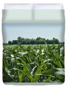 Alabama Field Corn Crop Duvet Cover