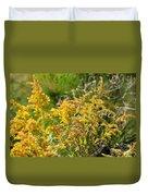 Alabama Goldenrod Duvet Cover