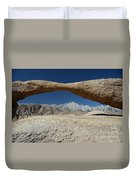 Alabama Hills Arch Duvet Cover