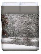 Alabama Winter Wonderland Duvet Cover