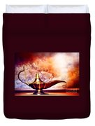 Aladdin Lamp Duvet Cover
