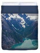 Alaska Coastal Duvet Cover by Mike Reid