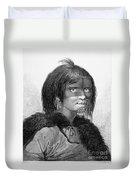 Alaska: Woman, C1784 Duvet Cover
