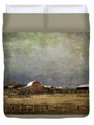 Alberta Farm Land Duvet Cover
