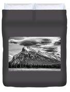 Alberta Rockies Duvet Cover