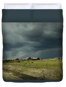 Alberta Stormy Weather Duvet Cover