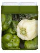 Albino Bullnose Pepper Duvet Cover