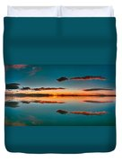 Albufera Panoramic View. Spain Duvet Cover