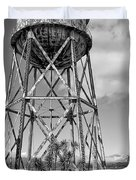 Alcatraz Penitentiary Water Tower Duvet Cover