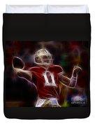 Alex Smith - 49ers Quarterback Duvet Cover