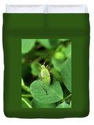 Alfalfa Plant Bug Duvet Cover