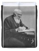 Alfred Russel Wallace Duvet Cover by Science Source