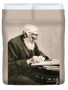 Alfred Russel Wallace, Welsh Naturalist Duvet Cover