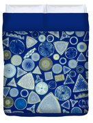 Algae, Fossil Diatoms, Lm Duvet Cover