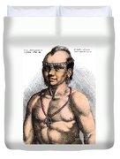Algonquian Man, 1645 Duvet Cover