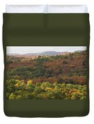 Algonquin In Autumn Duvet Cover