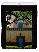 Alhambra Water Tower Doors Duvet Cover