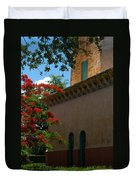 Alhambra Water Tower Windows And Door Duvet Cover