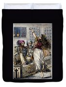 Ali Baba And 40 Thieves Duvet Cover