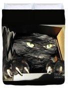 Alice's Cat Duvet Cover by Rebecca Margraf
