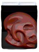 Alien Skull Duvet Cover