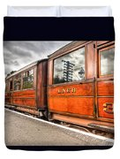 All Aboard Duvet Cover by Adrian Evans