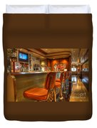 All American Diner 3 Duvet Cover by Bob Christopher